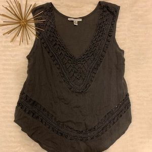Like New American Eagle Gray Tank X-Small